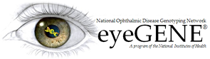 National Eye Institute eyeGene Logo
